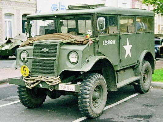 1943 Chevrolet С8А with cab No.13, 4x4
