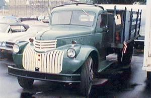 1944 Chevrolet Rack bodytruck