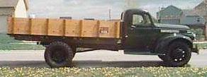 1945 Chevrolet 15ton 235 cid 2spdaxle