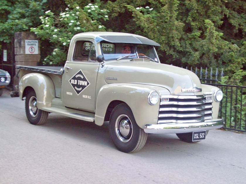 1947-55 Chevrolet Advance Design Pick Up Engine 216, 235,261 Ci S6