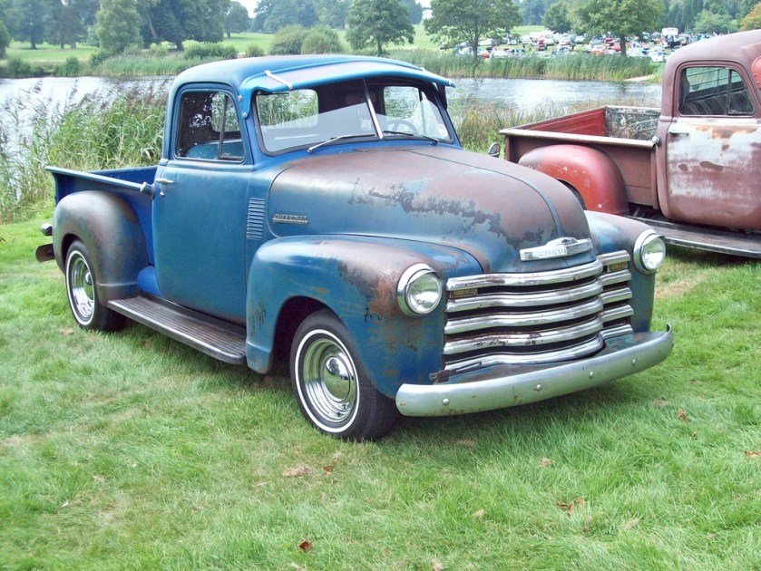 1949 Chevrolet Advance Design Pick-up Billed as bigger, stronger and sleeker the Advance Design