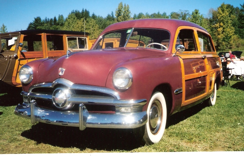 1950 Ford Country Squire station wagon I