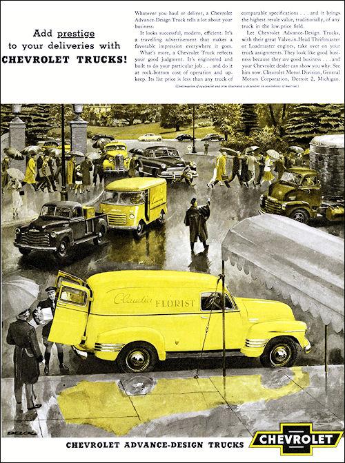 1951 Chevrolet p-u