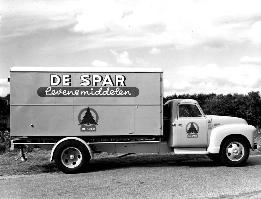 1951 Chevrolet Vrachtwagen met Renova afzetbaksysteem De Spar