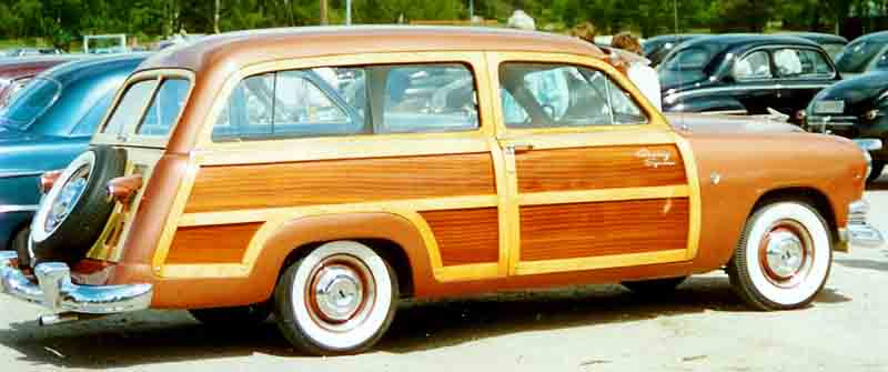 1951 Ford Custom Deluxe Country Squire Station Wagon