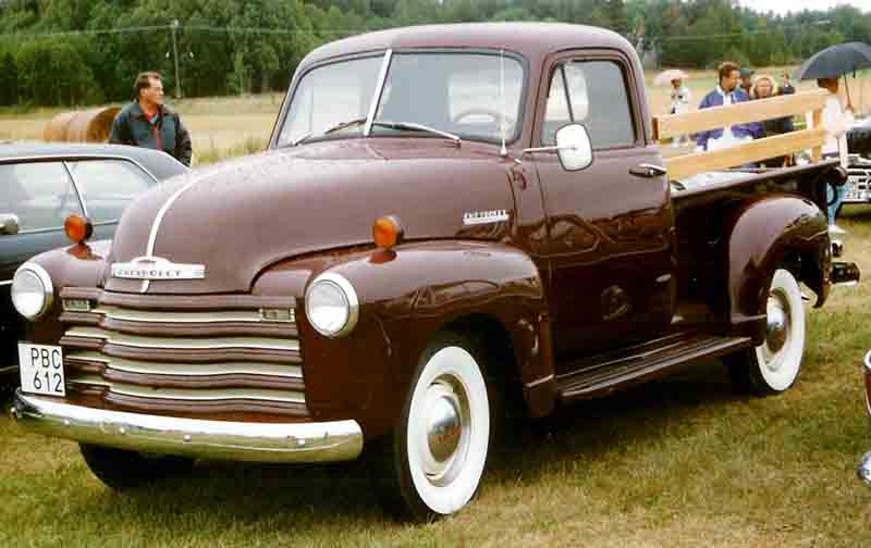 1952 Chevrolet Advance Design