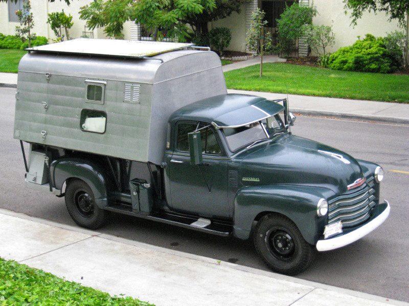1952 Chevy Truck Camper