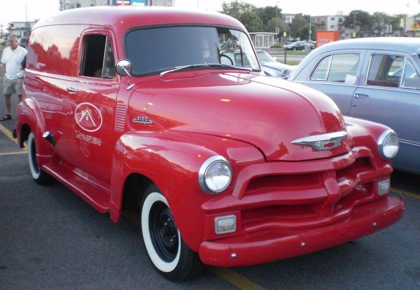 1954 Chevrolet 3100 panel van