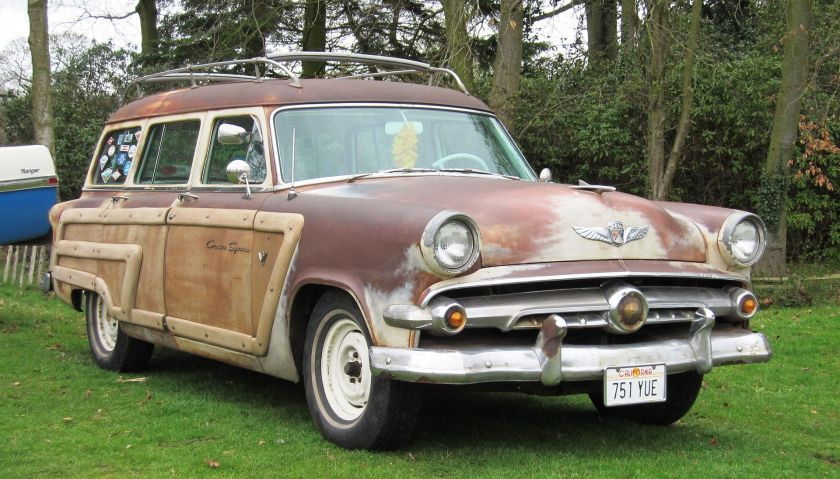 1954 Ford Country Squire at Weston Park