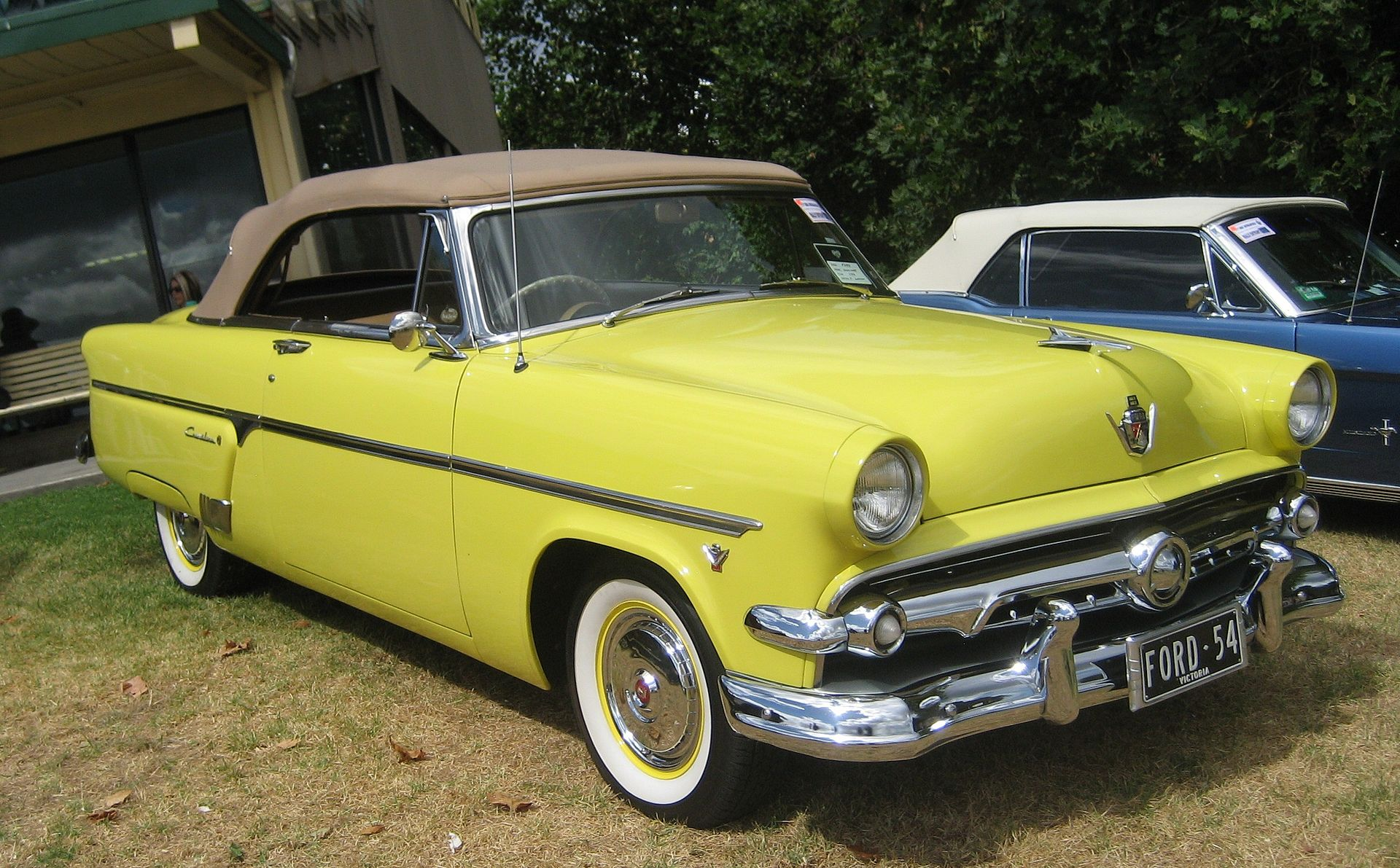 Ford Motor Company Part Xii The Crestline Myn Transport Blog 1955 F100 Volare Suspension 1954 Sunliner Convertible