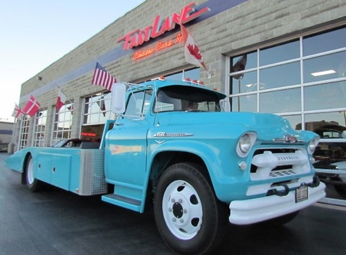 1956 Chevy 8500 Car Hauler