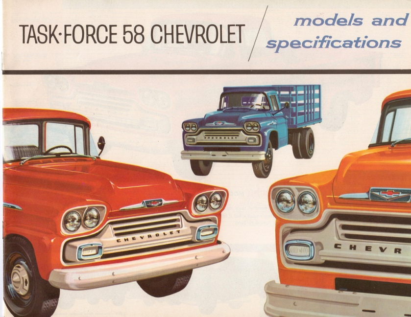 1958 Chevrolet Task Force