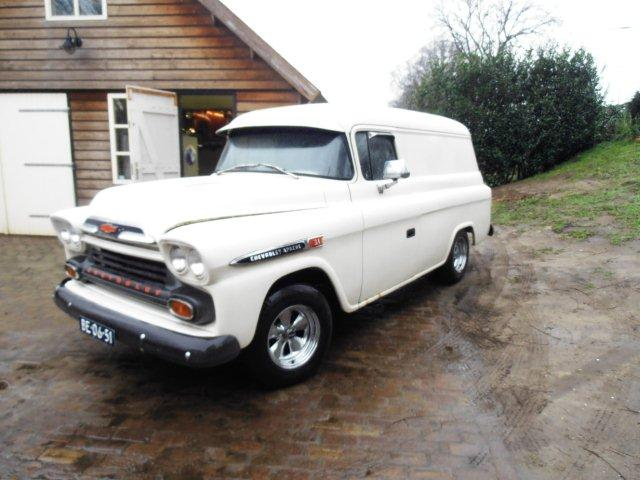 1959 Chevrolet Apache panel van