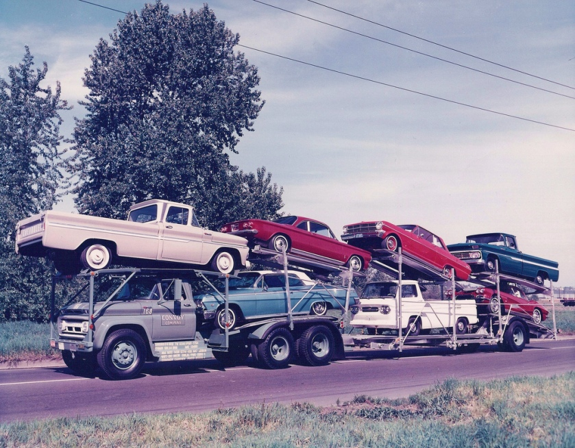 1962 Chevrolets on Convoy Chev