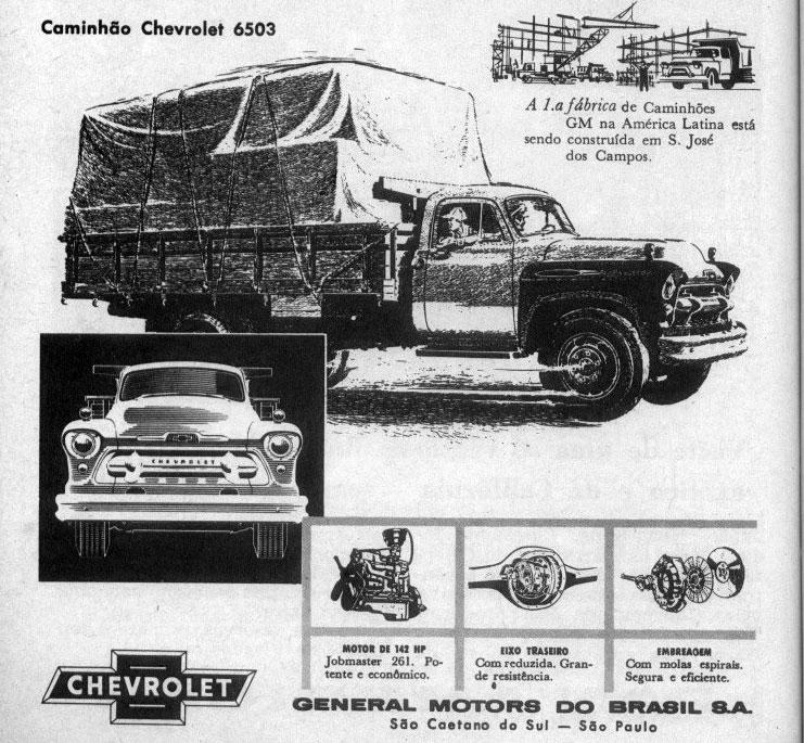 1963 Chevrolet Brasil series 6500