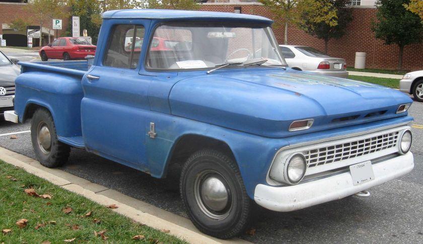 1963 Chevrolet stepside