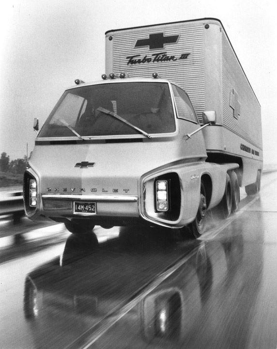 1966 Chevrolet Turbo Titan III experimental truck