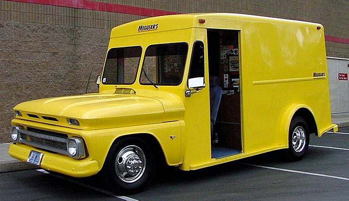1966 Chevy Milk Truck