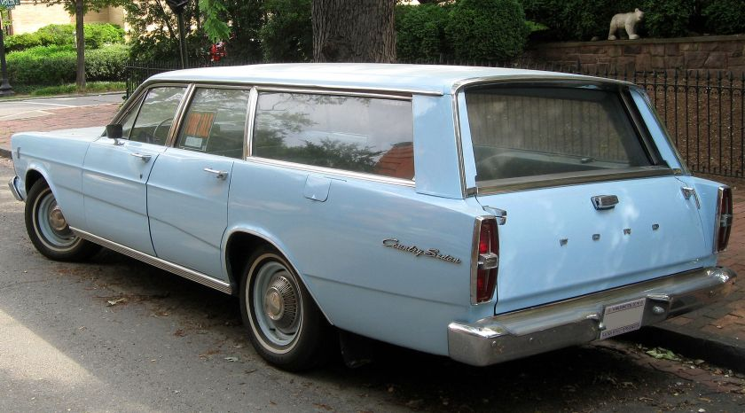 1966 Ford Country Sedan rear