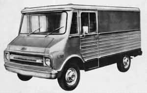 1967 Chevrolet Van Arg