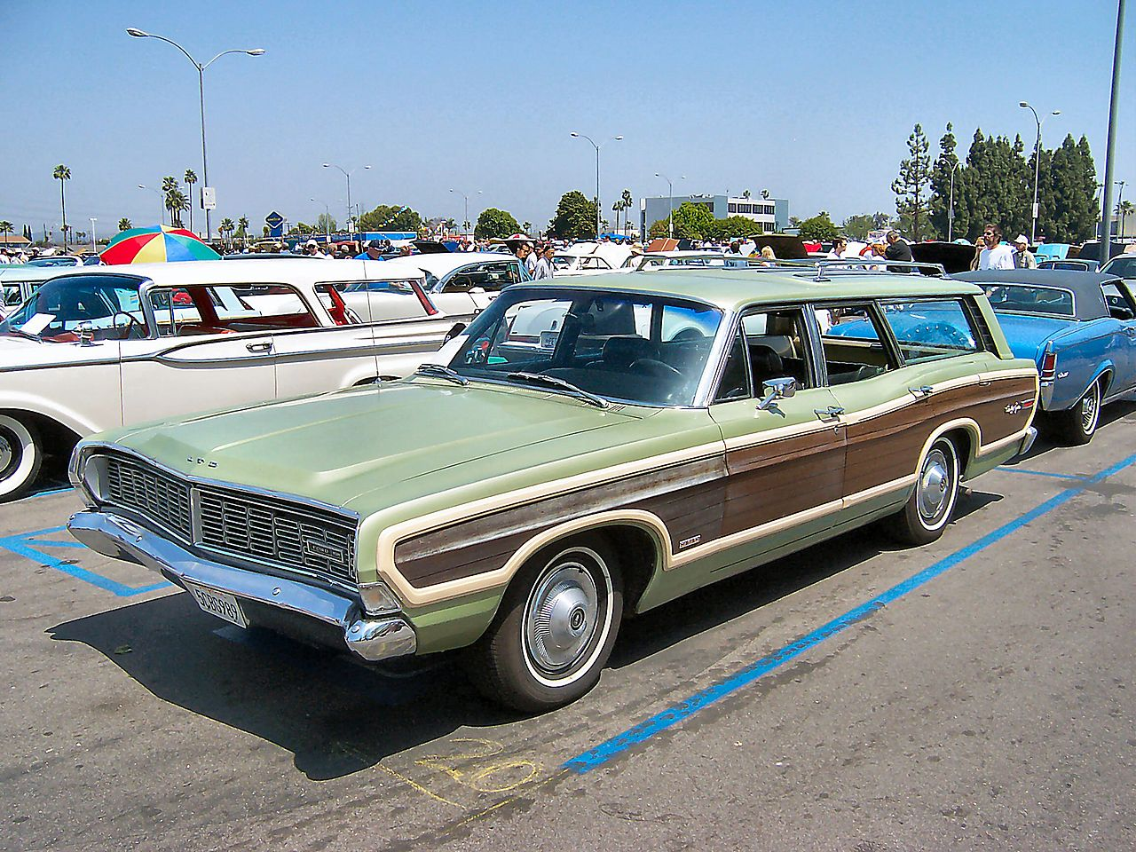 68 Ford Ltd Station Wagon
