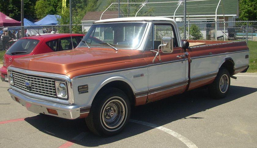 1971-72 Chevrolet C-10 Cheyenne