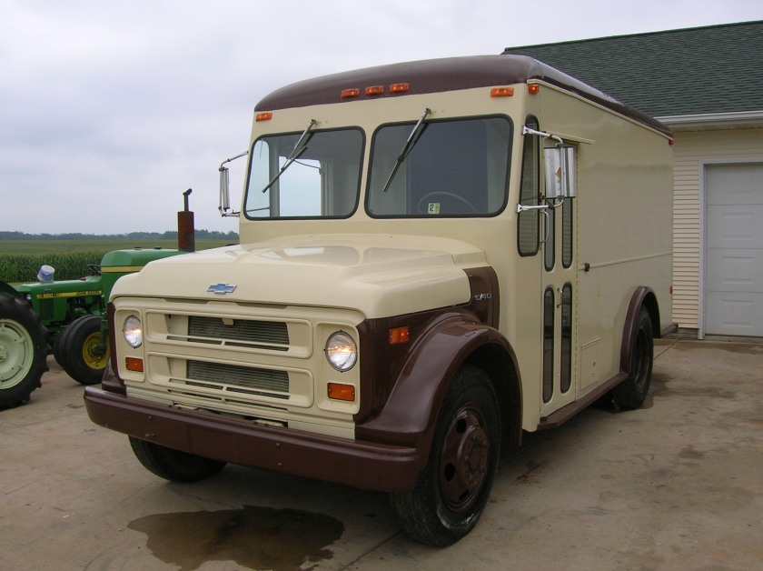 1972 Chevy C-40 with Hackney Reefer Body