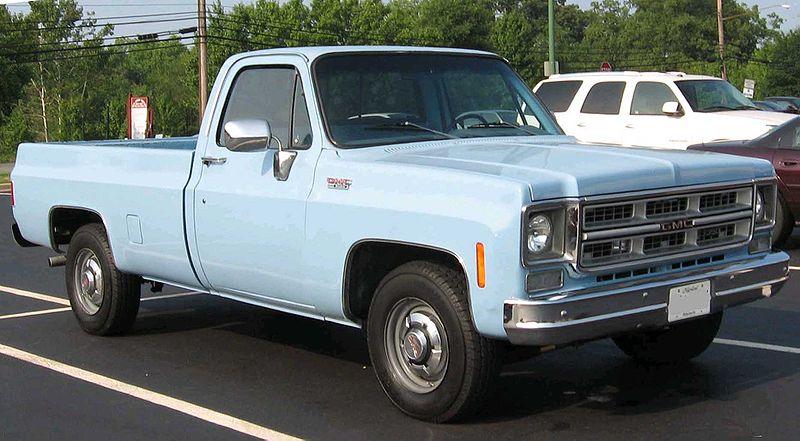 1975-1976 GMC C-K.
