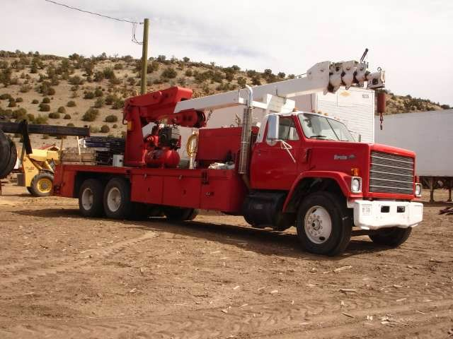 1978 Chevrolet Bruin C19-B with Dyna-Lift B100-5 Crane