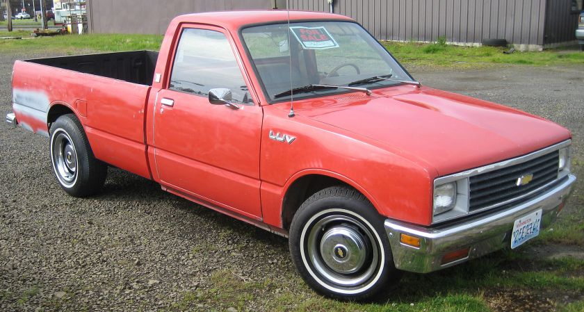 1980-88 Chevy LUV second gen