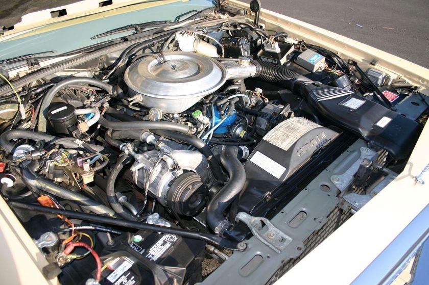 1982 carbureted engine