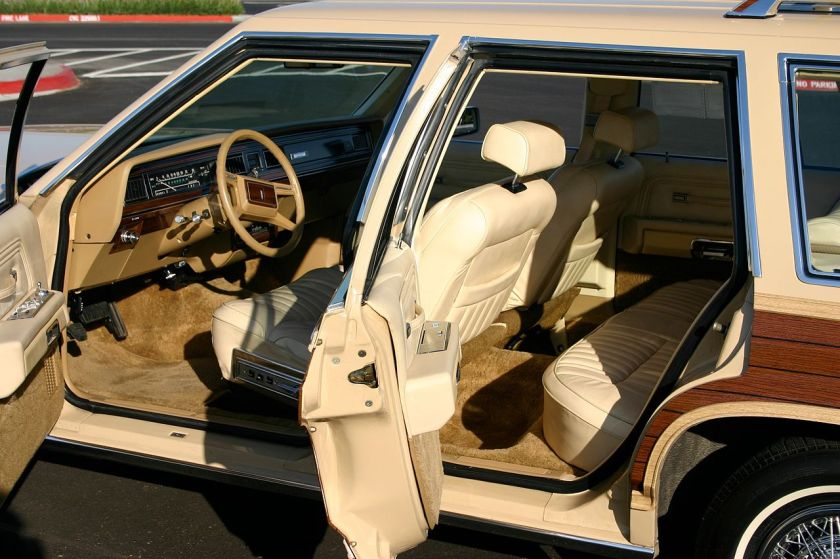 1982 front and rear seats