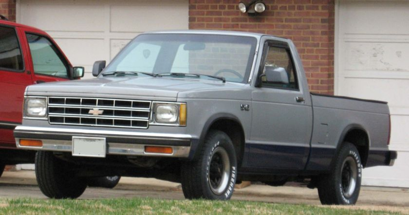 1982–1990 1st Chevrolet S-10 single cab