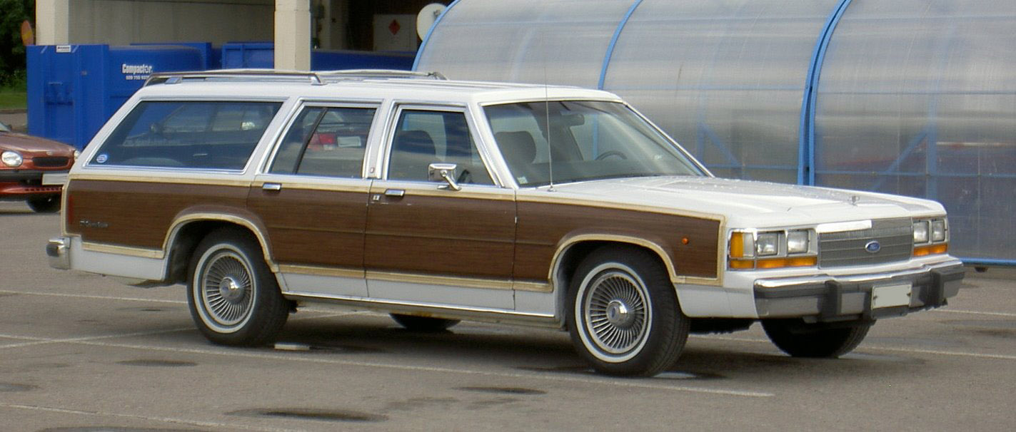 1988 90 ford ltd country squire