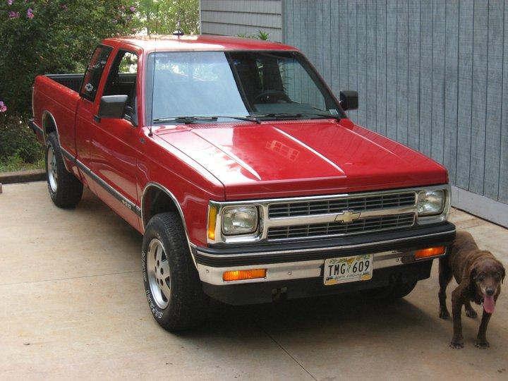 1991-1994 Chevrolet S-10 Tahoe 4x4