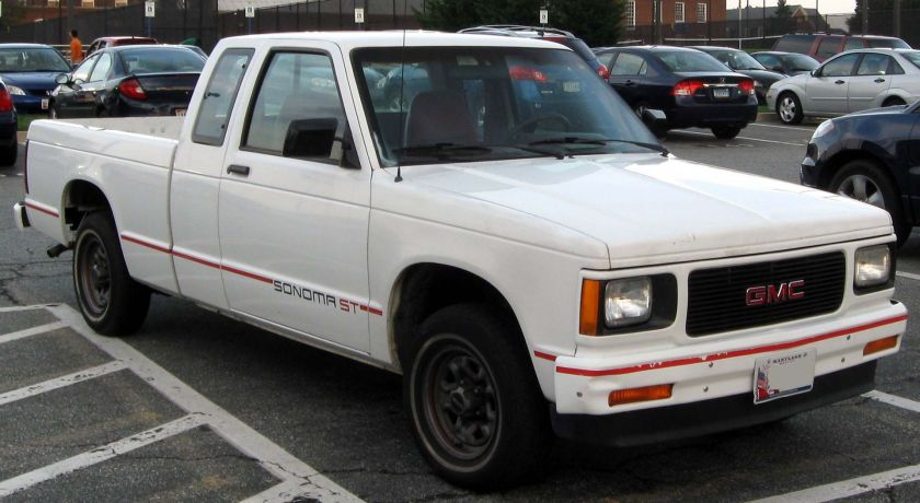 1991-1994 GMC Sonoma ST extended cab
