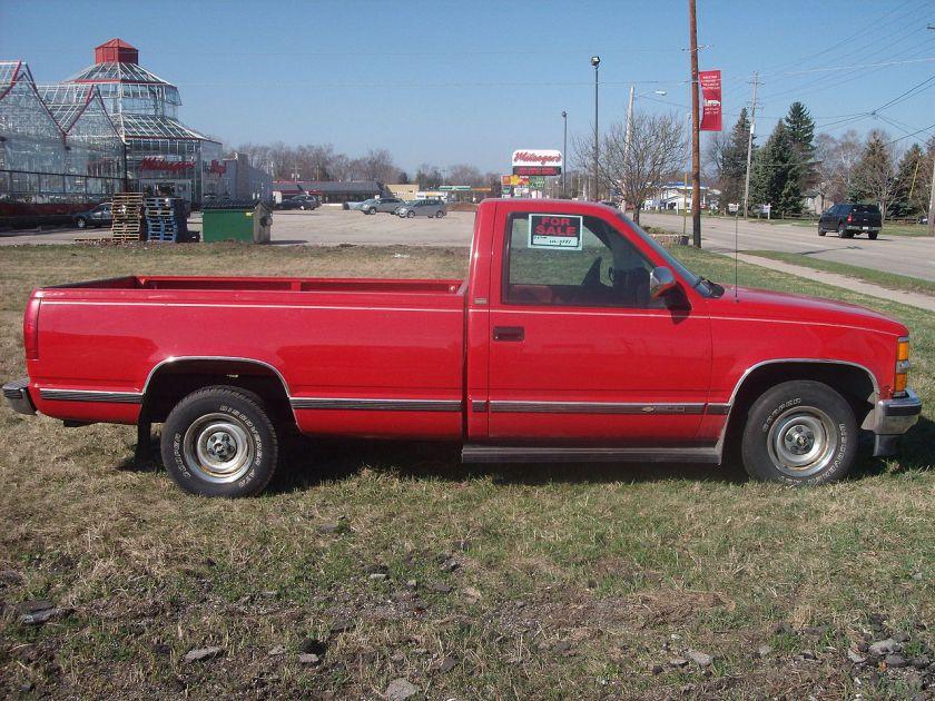 1993 Chevrolet C-K Extended Bed