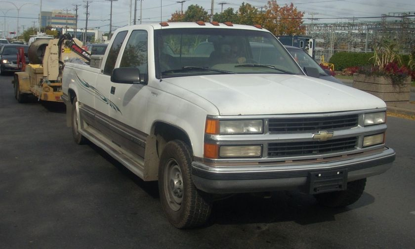 1997-99 Chevrolet CK Extended Cab
