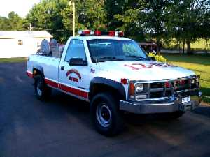 1997-99 Chevrolet K-3500 Brush Truck