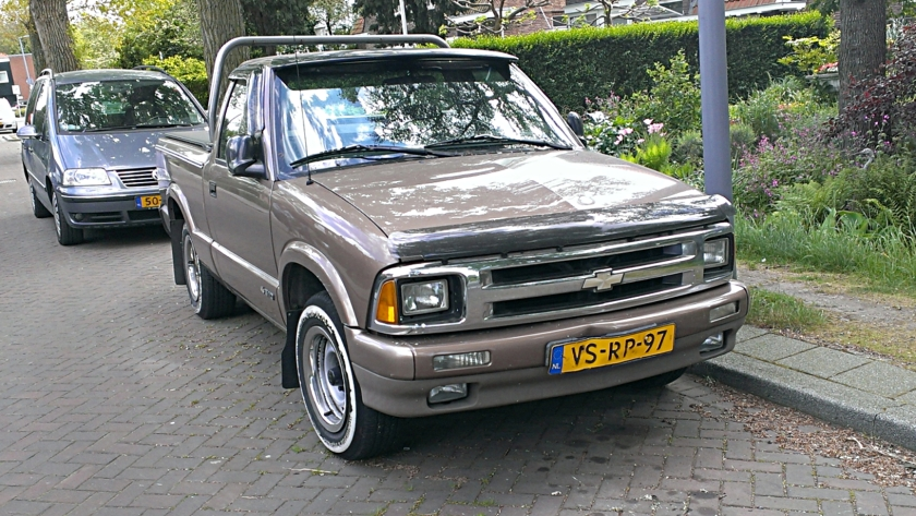 1997 Chevrolet S-10 Pickup (European version) NL