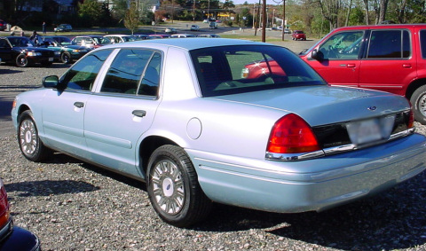 1998 Ford Crown Victoria extended wheelbase