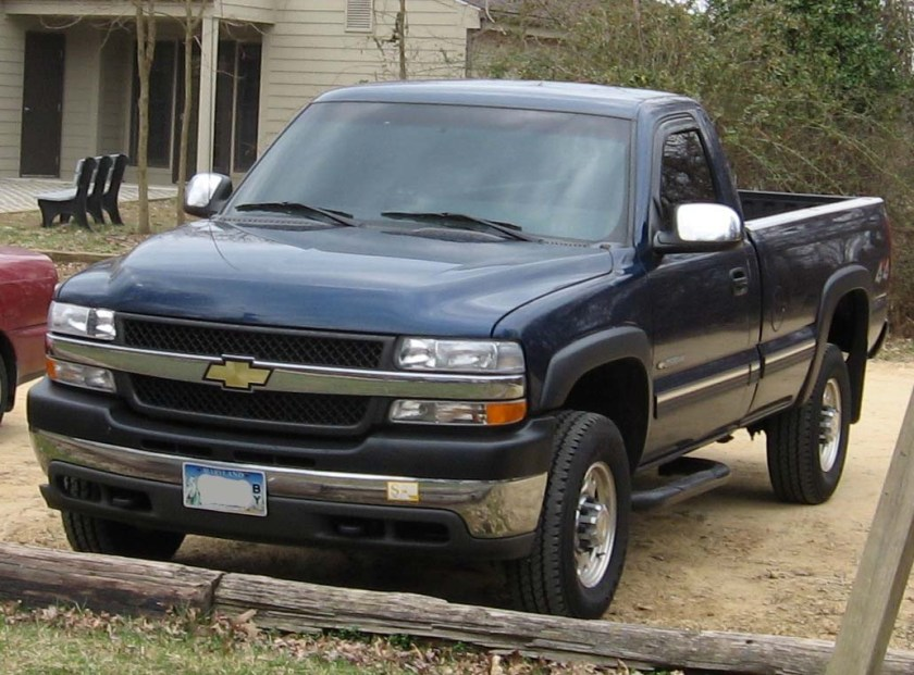 1998–02 Chevrolet Silverado 2500 regular cab