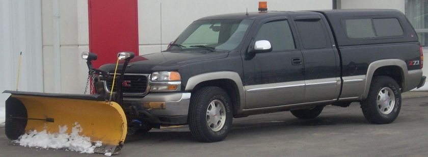 1999-'02 GMC_Sierra_Extended_Cab_Snow_Removal_Truck