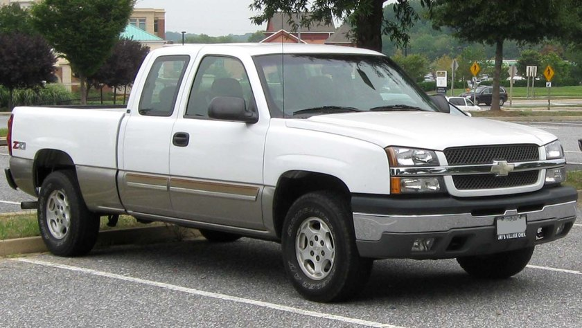 2003-2005 Chevrolet Silverado