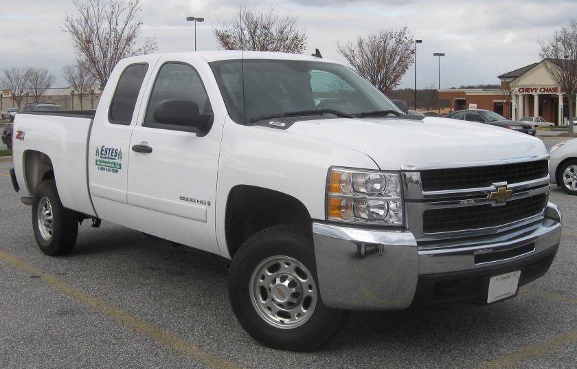 2007-2009 Chevrolet Silverado 2500