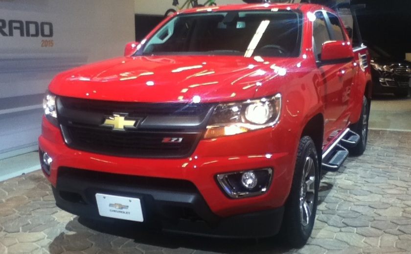 2015 Chevrolet Colorado Crew Cab