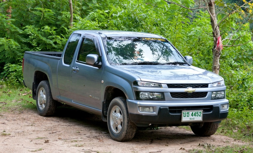 Chevrolet Colorado in Thailand