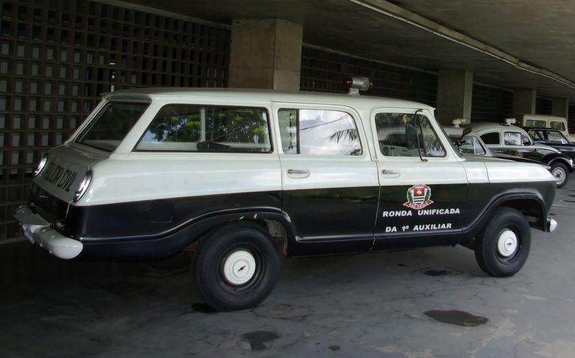 Chevrolet Veraneio in the museum of the São Paulo Polícia Civil.