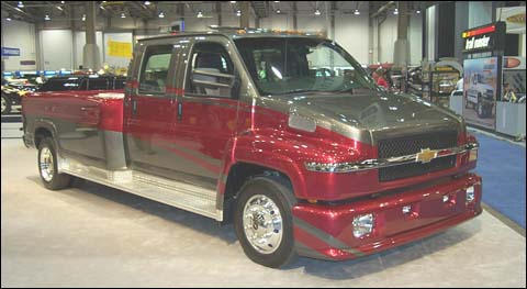 CHEVROLET'S BRUIN - THE PAPA BEAR OF PICKUPS