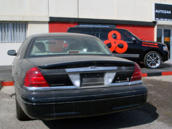 Crown Victoria Special Edition Rear, Mercury Marauder Spoiler